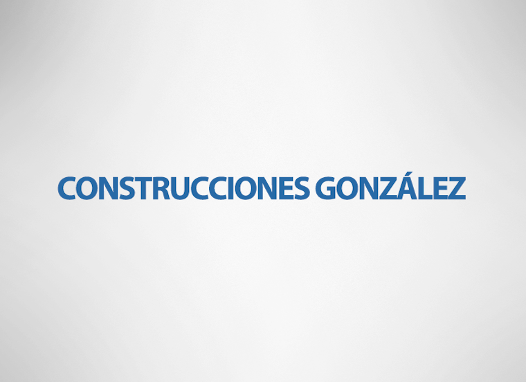 Construcciones Gonzales